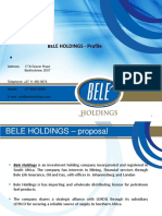 Bele Holdings - COMPANY PROFILE - 25 AUGUST 2015.pdf