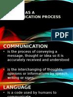 Reading as a Communication Process