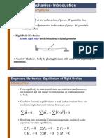 mechanics Equilibrium Review