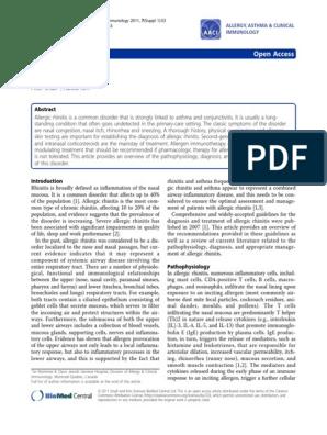 jurnal rhinitis alergi pdf | Allergen | Allergy