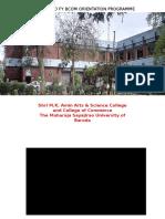 Orientation Padra College