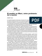 Garo - El Pueblo en Marx