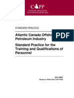 Standard Training:Qualifications Canada