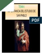 Curso de san Pablo y sus cartas - Parroquia Guadalupe
