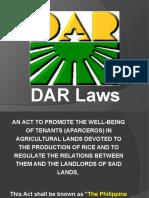 DAR Laws