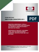 NMX-B-506-CANACERO