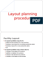 Layout Planning Procedure
