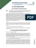 Acuerdo de modificación parcial del Convenio colectivo estatal