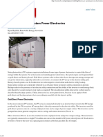 The Basics of PV System Power Electronics