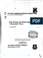 Klopf - Brain Function and Adaptive Systems