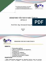 Desenho Técnico Mecânico - Aula 1