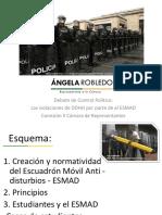 Presentación de Ángela María Robledo en debate de control político Ddhh y Esmad PDF
