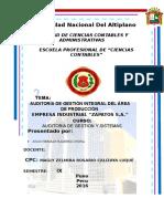 Caratula Universidad Nacional Del Altiplano
