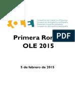 Ole 2015 1a Ronda Es3