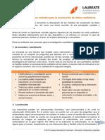 Compilación Sobre Métodos Para La Recolección de Datos Cualitativos