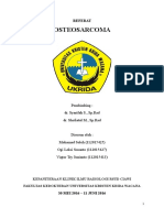 Referat Osteosarcoma