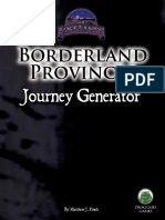 D&D5e - FGG - Borderland Provinces Journey Generator