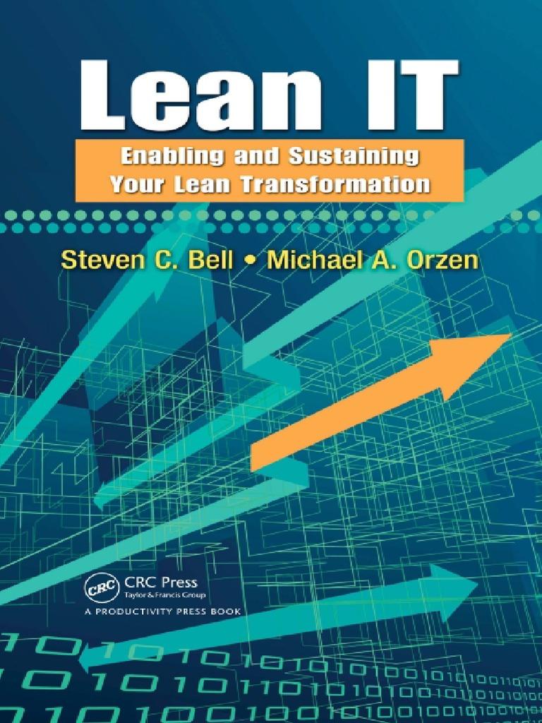 194139527-Lean-IT | Lean Manufacturing | Project Management