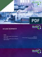 Laboratorium Quality Control Industri