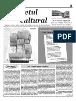Răsunetul cultural August 2016