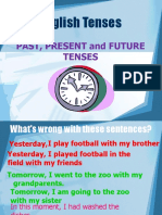 Ingles - Past, Present & Future Tenses
