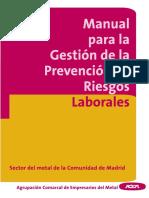 Manual Para La Gestión de La Prevención de Riesgos Laborales