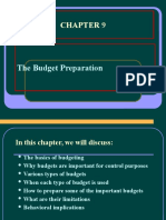 Chapter 9_budget Preparation