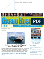 Cargo Business Newswire sample- Elaine Riot, Editor