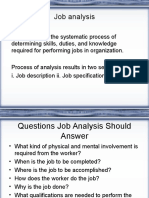 HRM 3 - Job Analysis