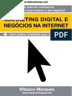 Livro Marketing Digital e Negocios na Internet - Vasco Marques.pdf