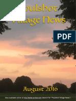 Poulshot Village News - August 2016