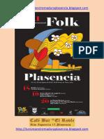 XXI Festival internacional de música Folk Plasencia 2016
