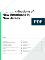 The Contributions of New Americans in New Jersey