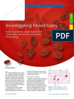 Ομάδες αίματος - πείραμα προσομοίωσης