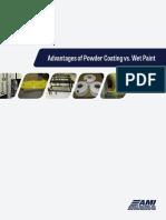 Advantages of Powder Coating vs. Wet Paint