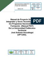 Manual UPTJAA - Universidad Politecnica Territorial José Antonio Anzoátegui