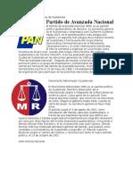 Organizaciones Políticas de Guatemala