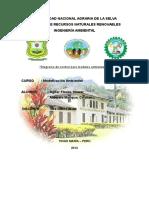 Diagrama de Control Para Modelos Ambientales