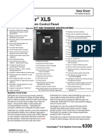 FireFinder XLS Advanced Fire Alarm Control Panel Data Sheet A6V10238846 Us En