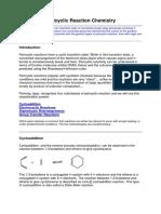 Pericyclic Reaction Chemistry