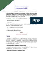 LEY ORGÁNICA DEL MINISTERIO PÚBLICO.docx