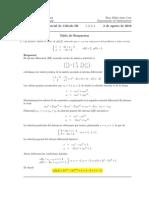 Segundo parcial Cálculo III, 2 de agosto de 2016