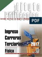 FISICA Ingreso Terciarios 2017
