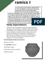 ceramics syllabus