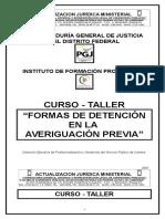 11- Curso-taller Formas de Detencion en La Av. Previa
