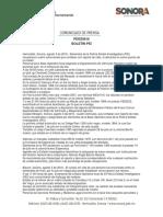 03/08/16 Boletín Policía Estatal