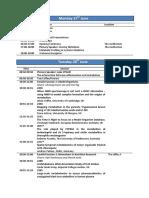Metabolomic Conference Detailed Programme 6-20-16
