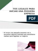 requisitoslegalesparainiciarunapequeaempresa-120605154036-phpapp01