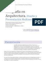 Inve_mem_2013_156088 Infografía en Arquitectura Representación