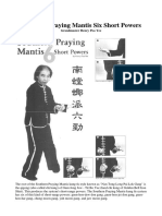 Southern Praying Mantis Six Short Powers